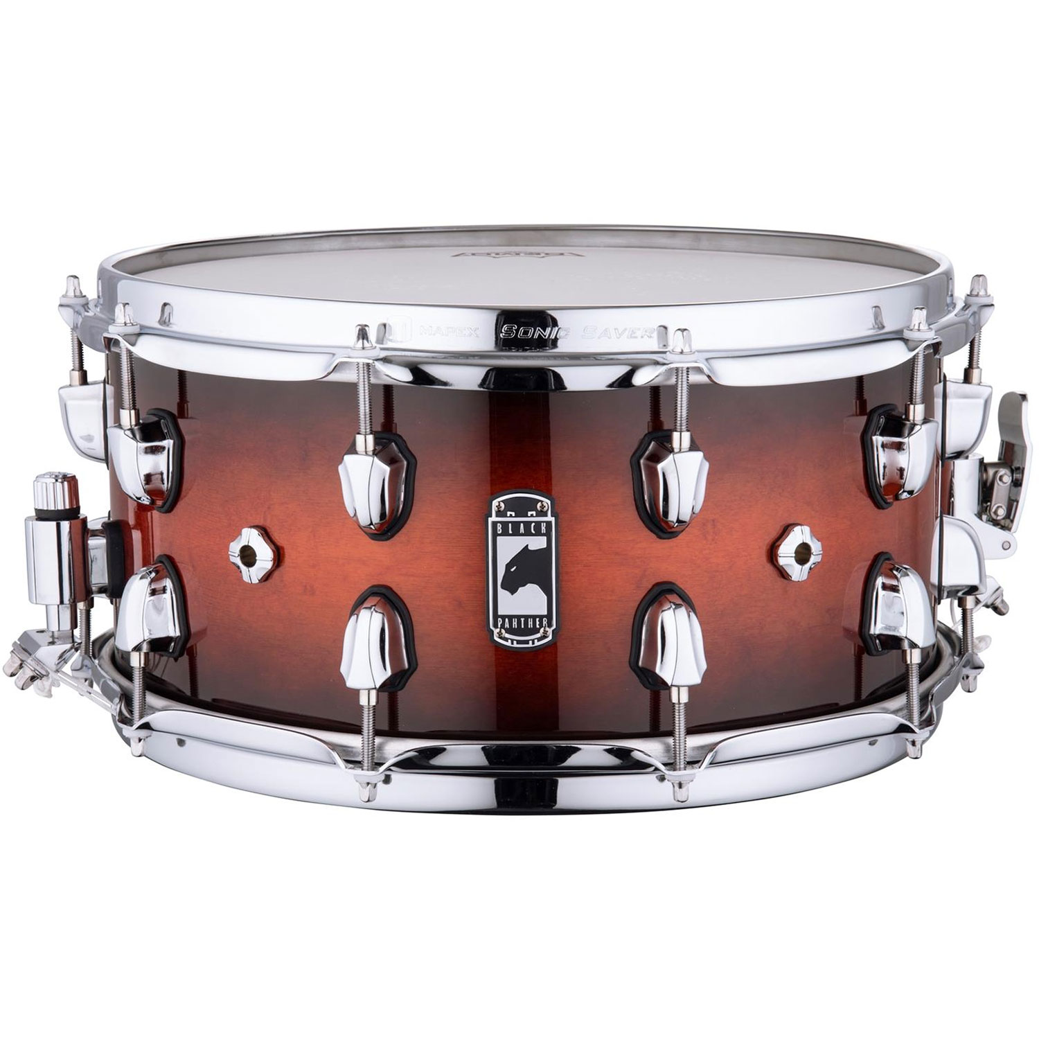 """Mapex 14"""" x 7"""" Black Panther """"Solidus"""" 11-Ply Maple Snare Drum"""