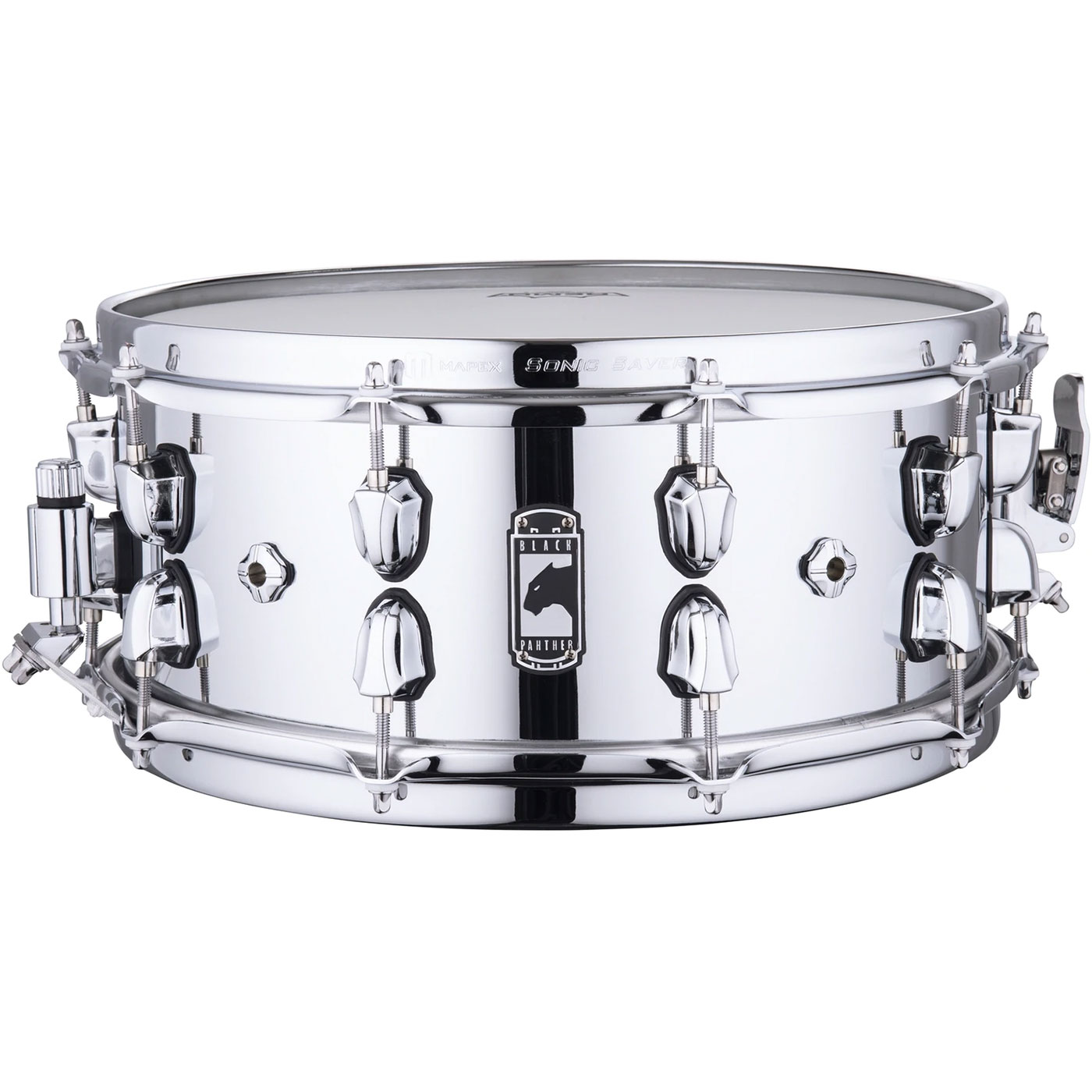 """Mapex 14"""" x 6"""" Black Panther """"Cyrus"""" 1.0mm Seamed Steel Snare Drum"""