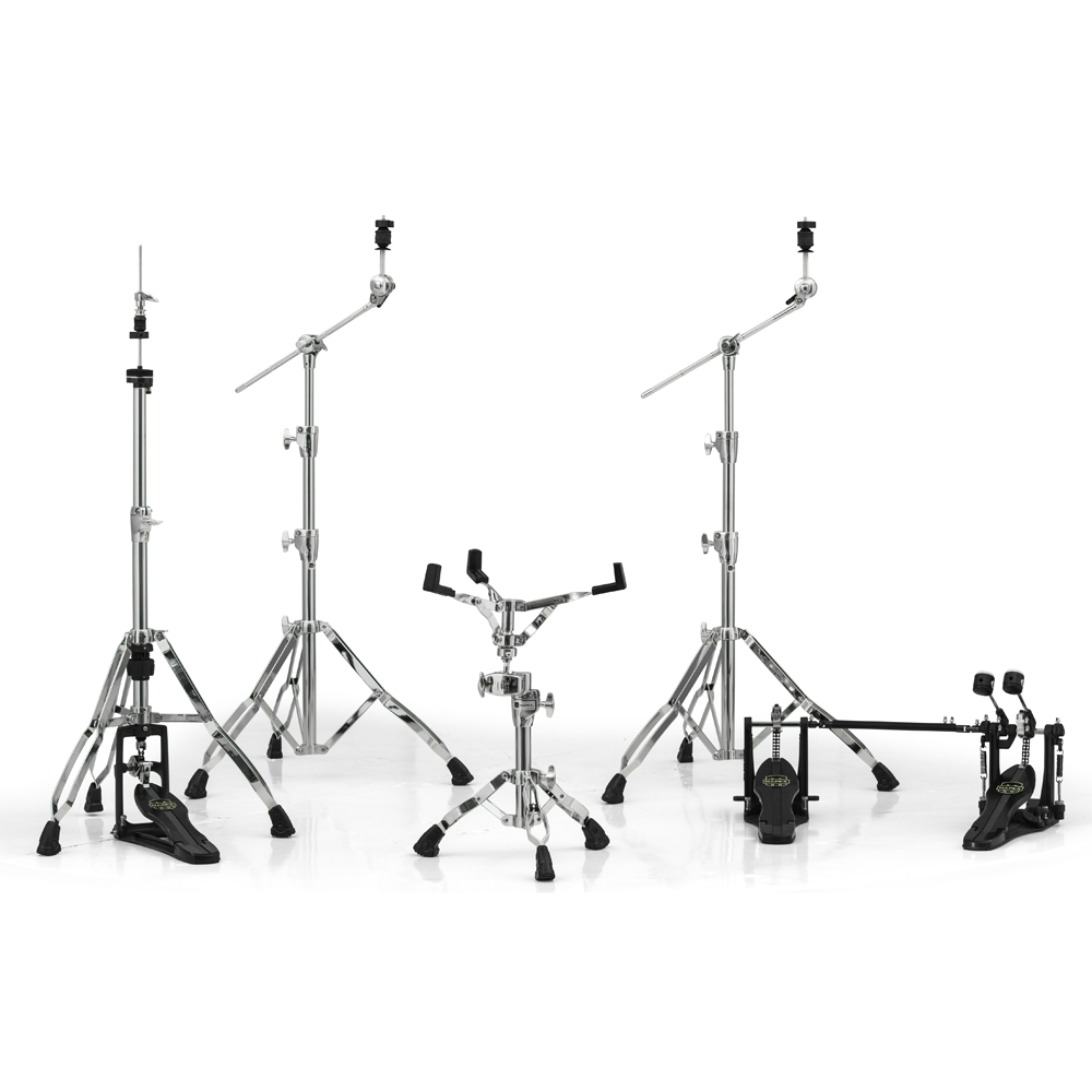 Mapex Armory Double Pedal Hardware Pack in Chrome Plating