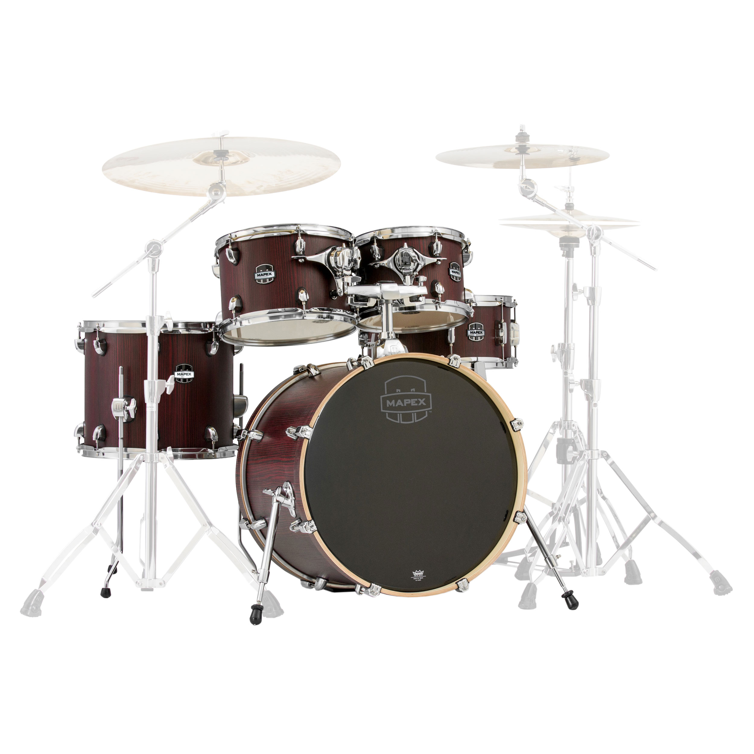 "Mapex Mars 5-Piece Fusion Drum Set Shell Pack (20"" Bass, 10/12/14"" Toms, 14"" Snare)"