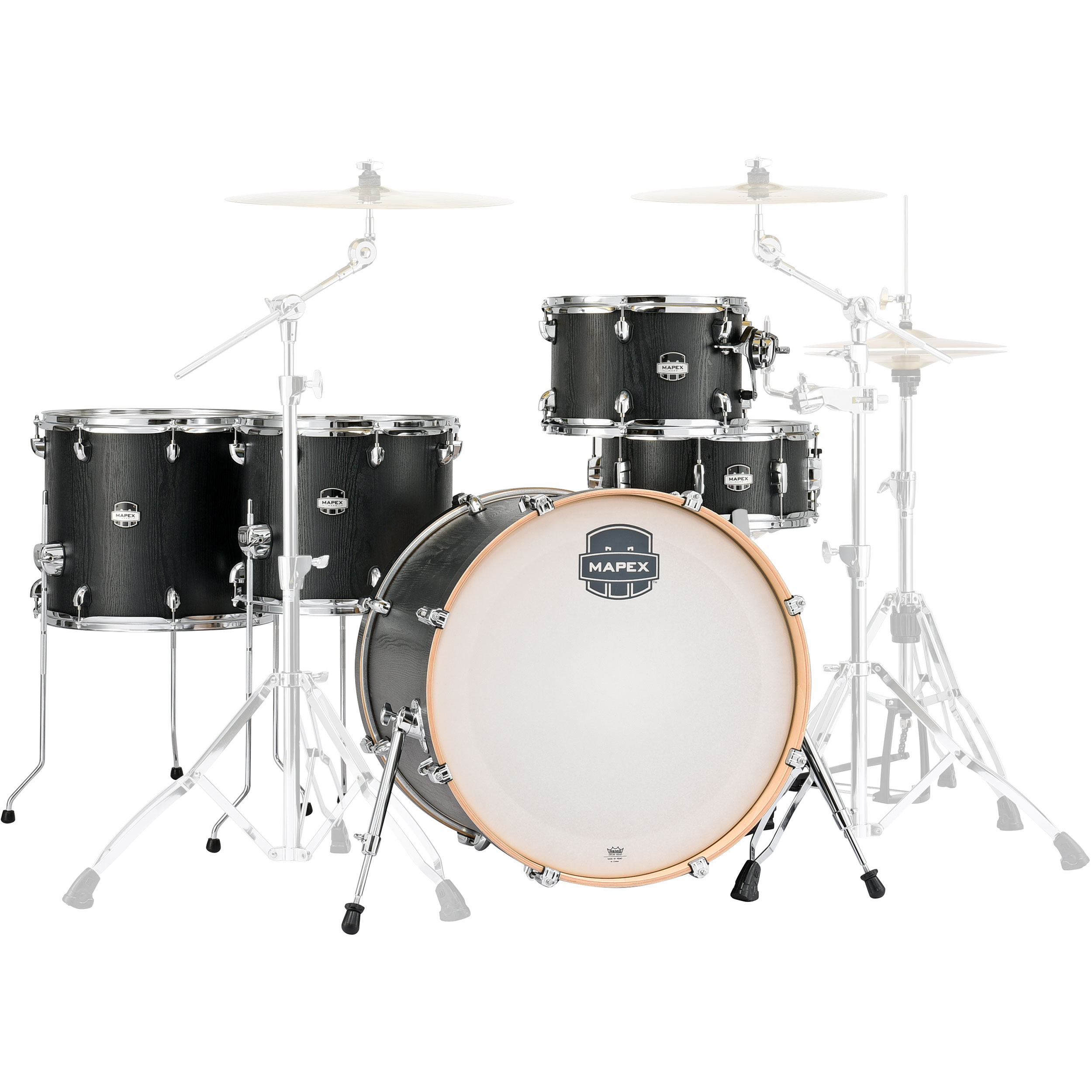 """Mapex Mars 5-Piece Crossover Drum Set Shell Pack (22"""" Bass, 12/14/16"""" Toms, 14"""" Snare)"""