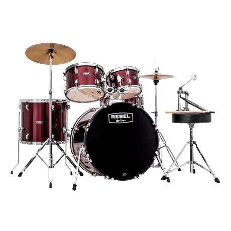 Mapex Rebel 5-Piece Drum Set (20
