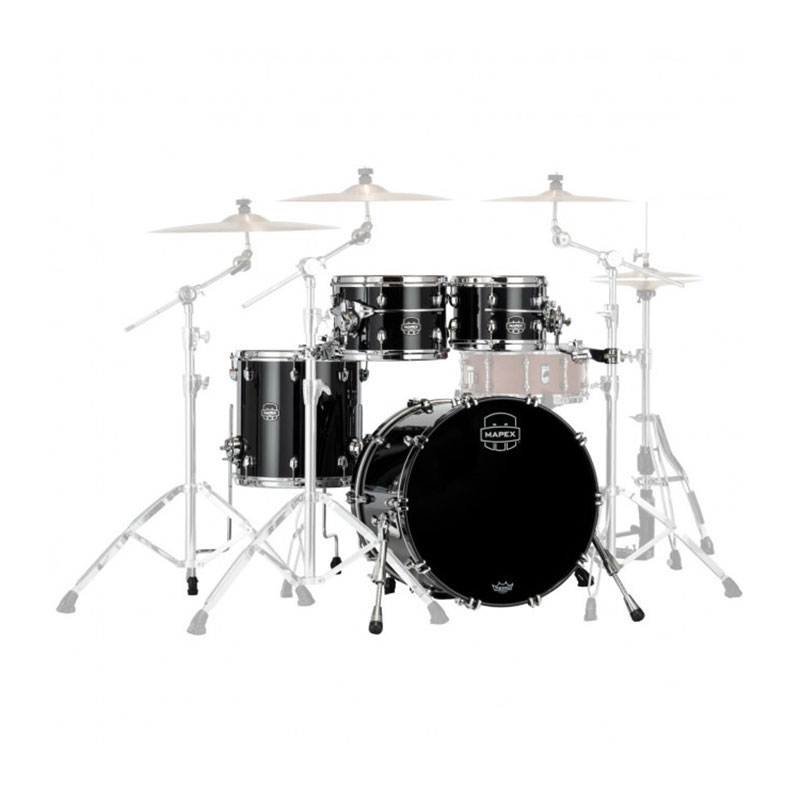 "Mapex Saturn Evolution Maple 4-Piece Classic Drum Set Shell Pack (22"" Bass, 10/12/16"" Toms)"