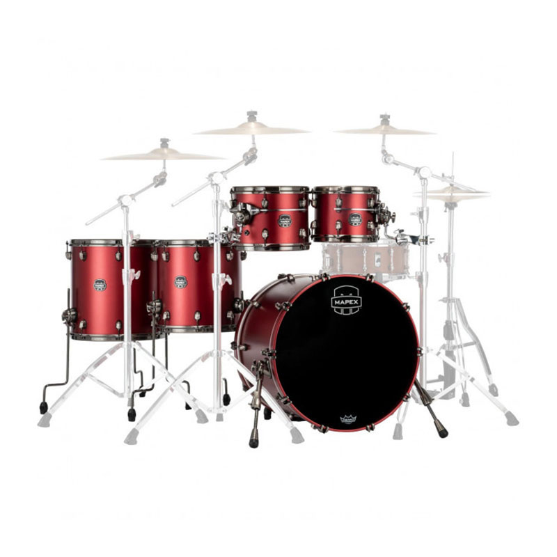 "Mapex Saturn Evolution Birch 5-Piece Workhorse Drum Set Shell Pack (22"" Bass, 10/12/14/16"" Toms)"