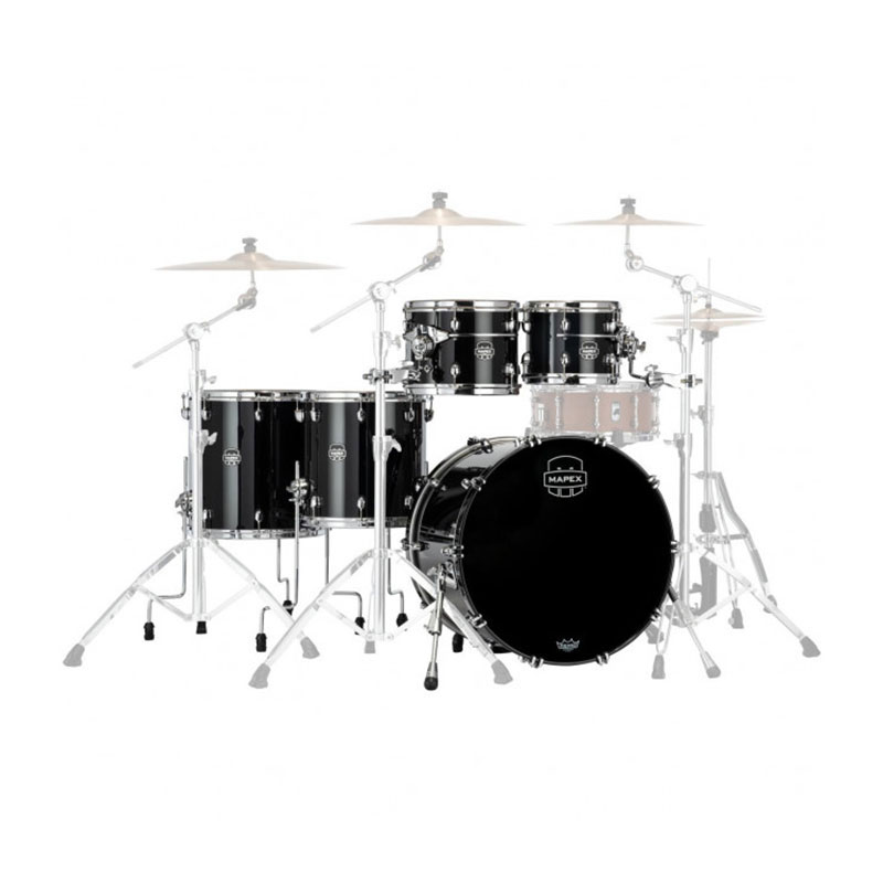 "Mapex Saturn Evolution Maple 5-Piece Workhorse Drum Set Shell Pack (22"" Bass, 10/12/14/16"" Toms)"