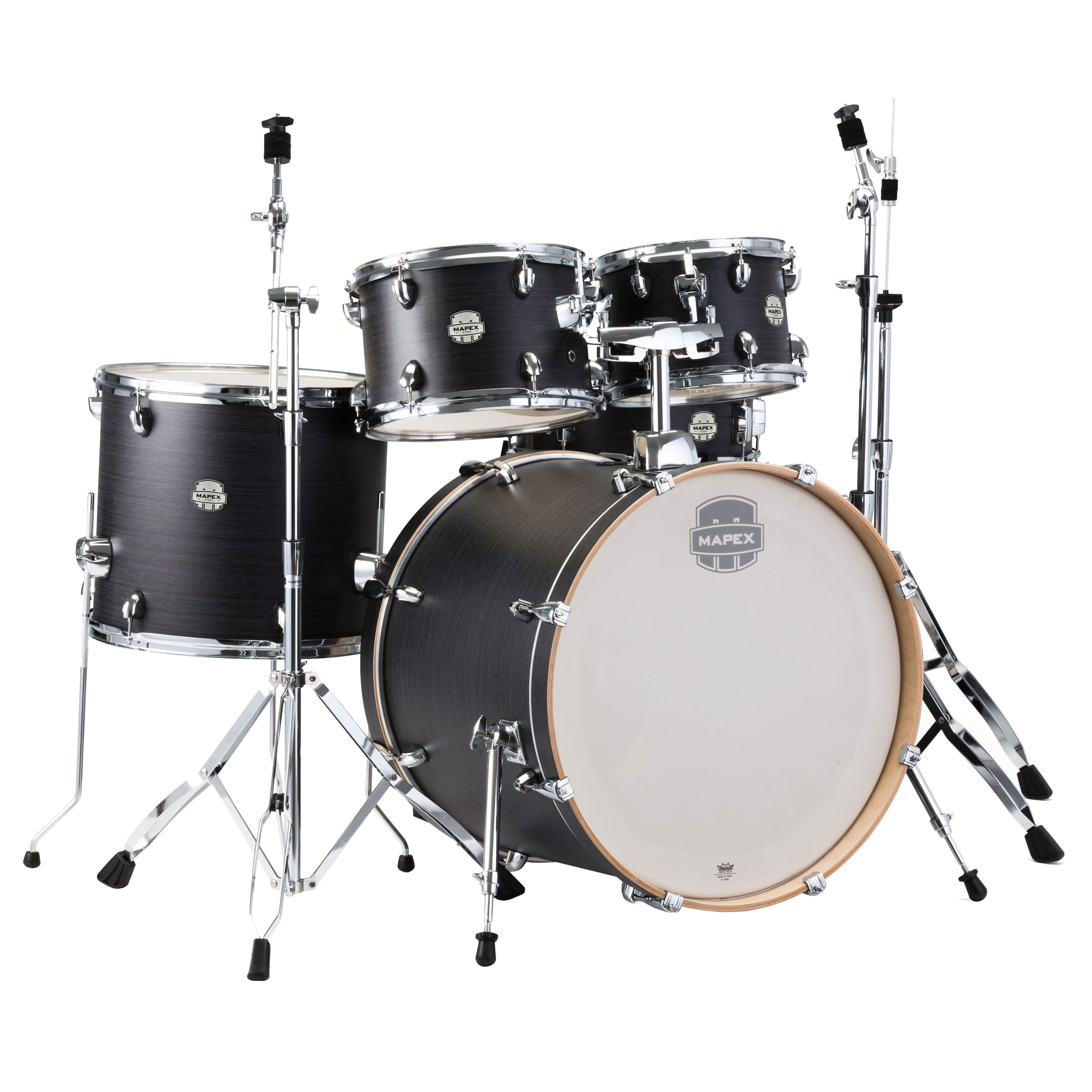 """Mapex Storm 5-Piece Fusion Drum Set (20"""" Bass, 10/12/14"""" Toms, 14"""" Snare) with Hardware"""