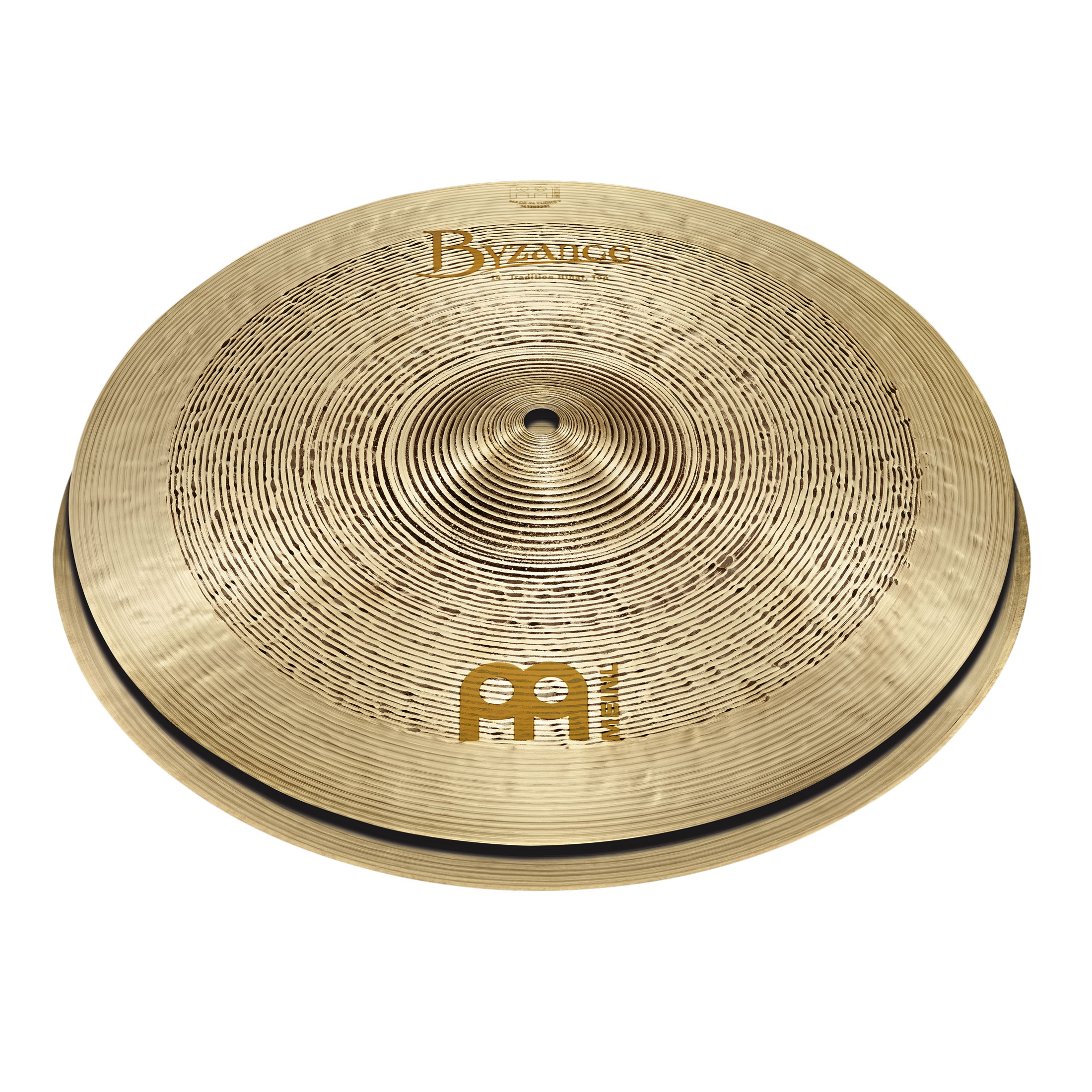 """Meinl 14"""" Byzance Tradition Hi Hat Cymbals"""