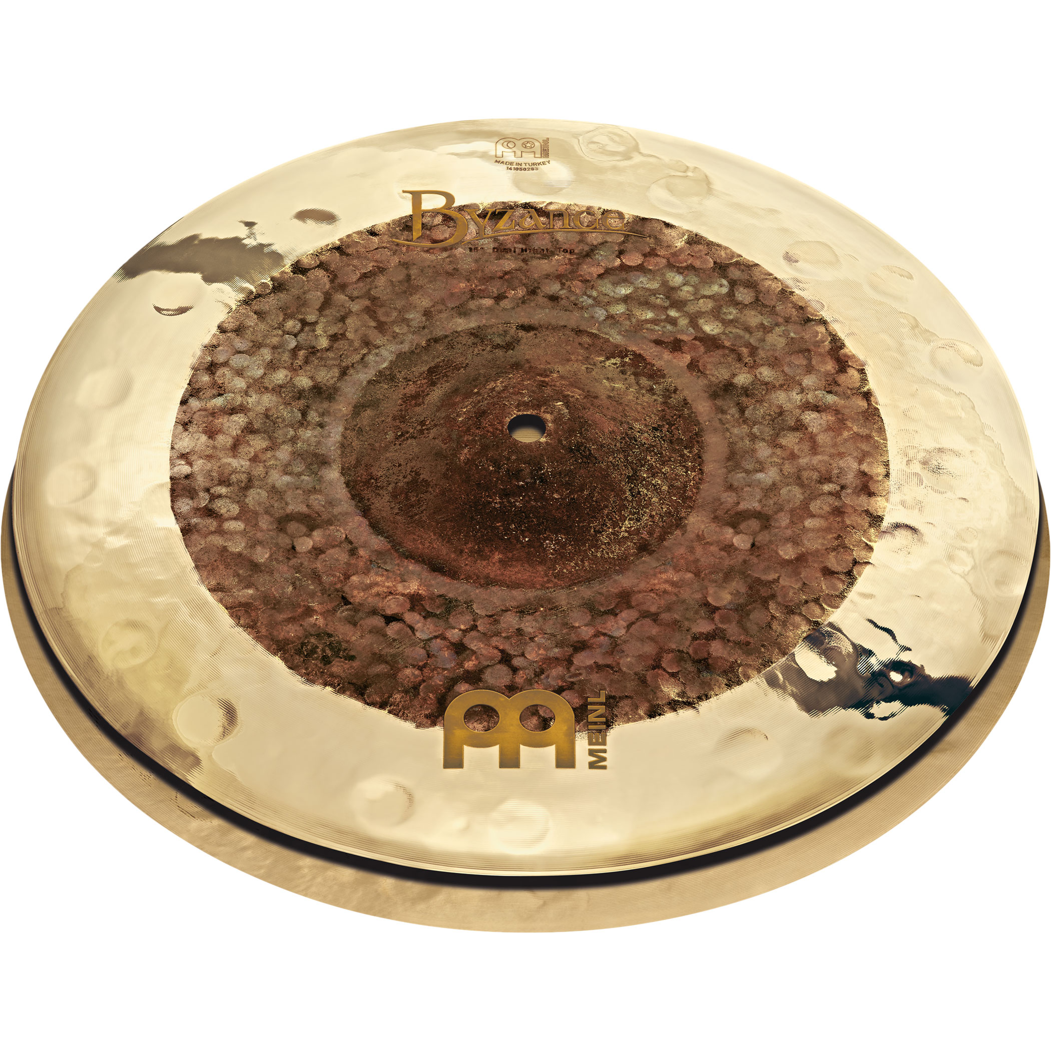 """Meinl 15"""" Byzance Extra Dry Dual Hi Hat Cymbals"""