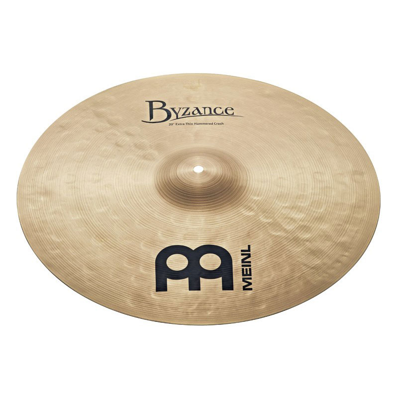 """Meinl 20"""" Byzance Traditional Extra Thin Hammered Crash Cymbal"""