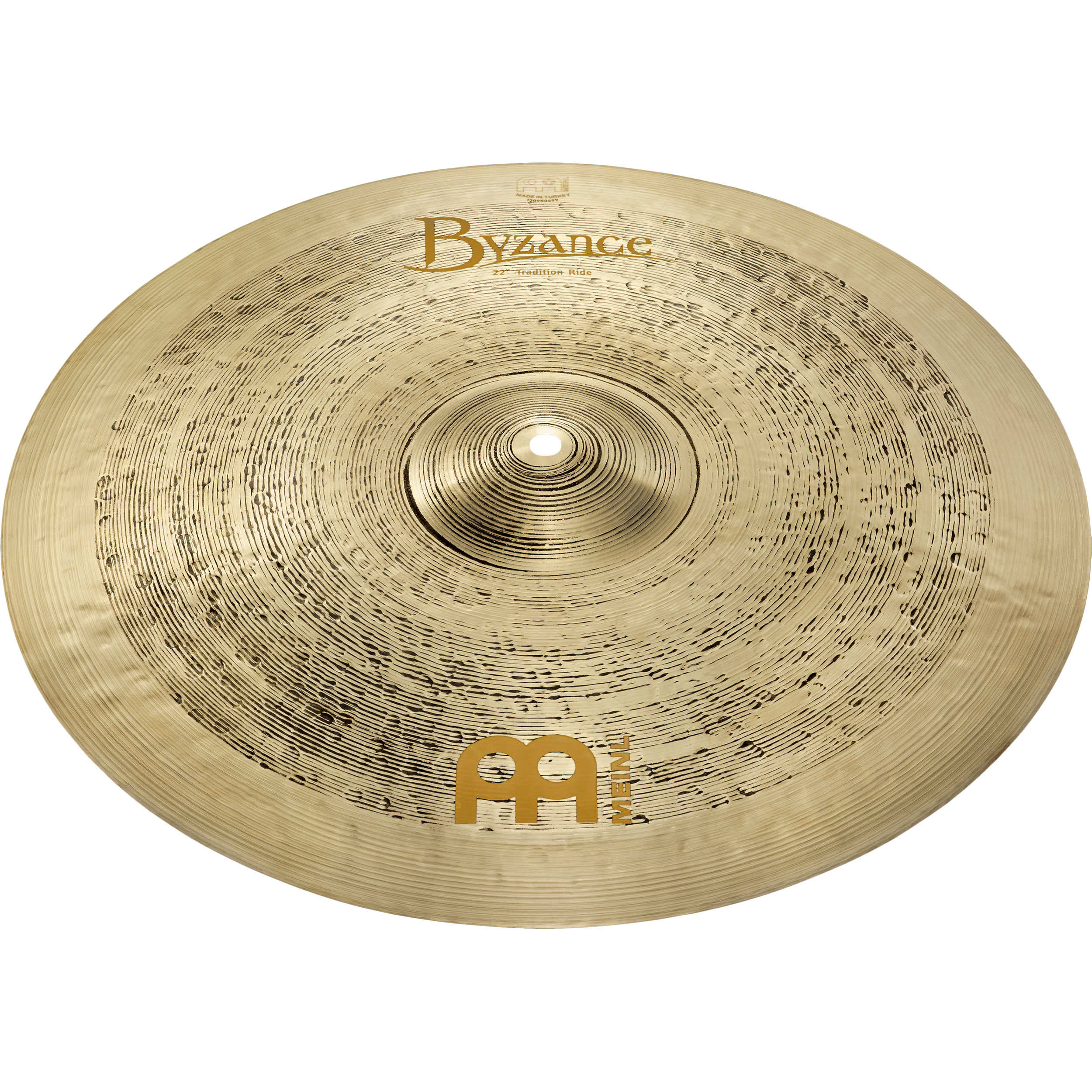 """Meinl 20"""" Byzance Tradition Light Ride Cymbal"""