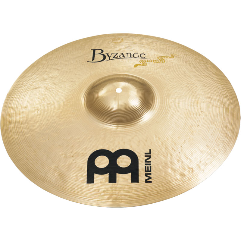 """Meinl 21"""" Hand-Selected Byzance Brilliant Serpents Ride Cymbal"""
