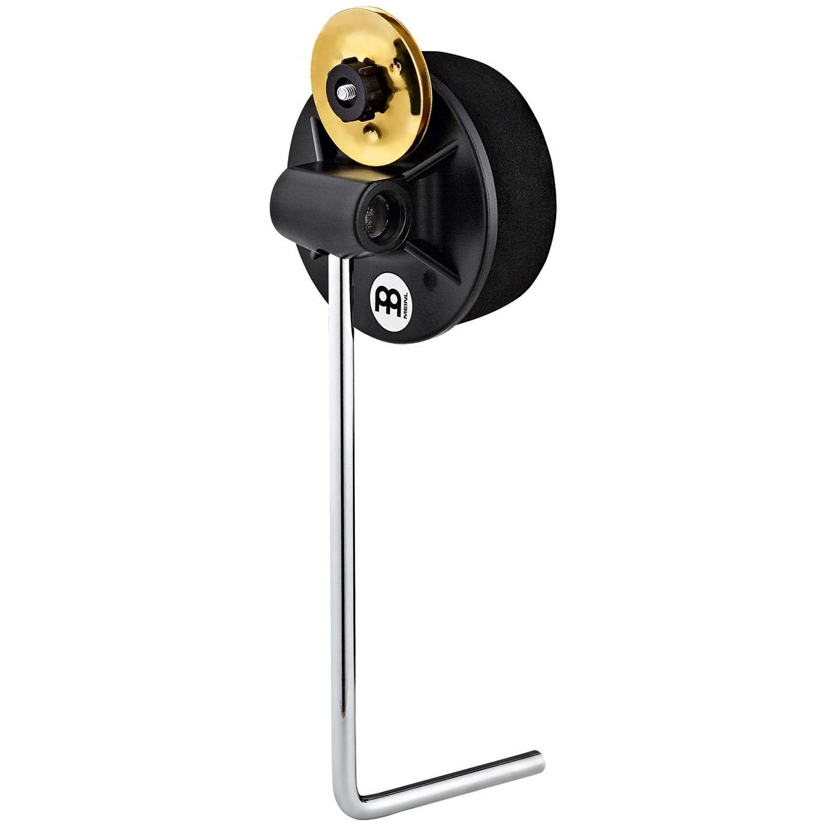 Meinl L-Shaped Foam Beater with Adjustable Brass Jingles for BassBox/SnareBox Cajons