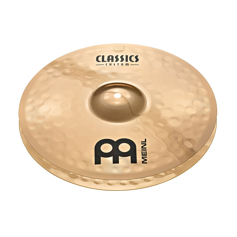 "Meinl 14"" Classics Custom Powerful Hi Hat Cymbals"