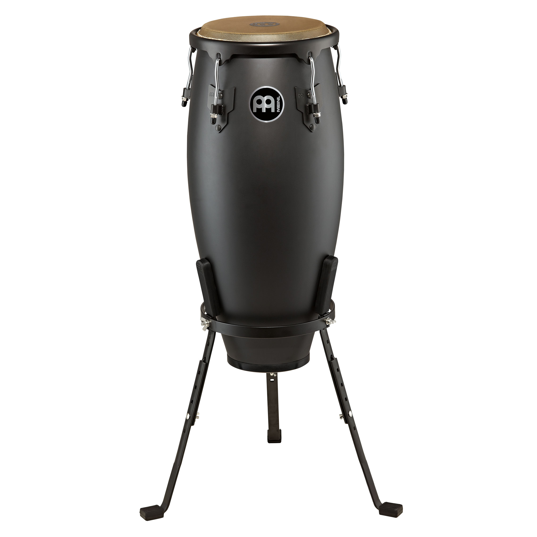 "Meinl 11"" Designer Series Quinto Conga in Phantom Black with Basket"
