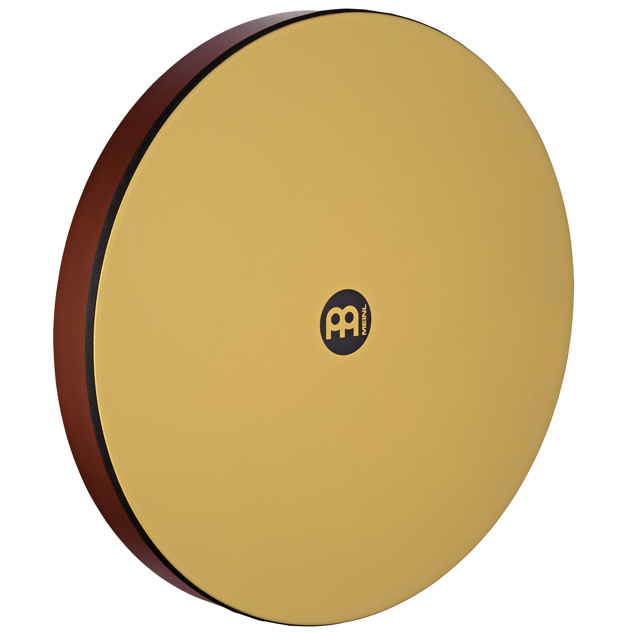 "Meinl 22"" x 2.75"" Hand Drum with Synthetic Head in African Brown Finish"