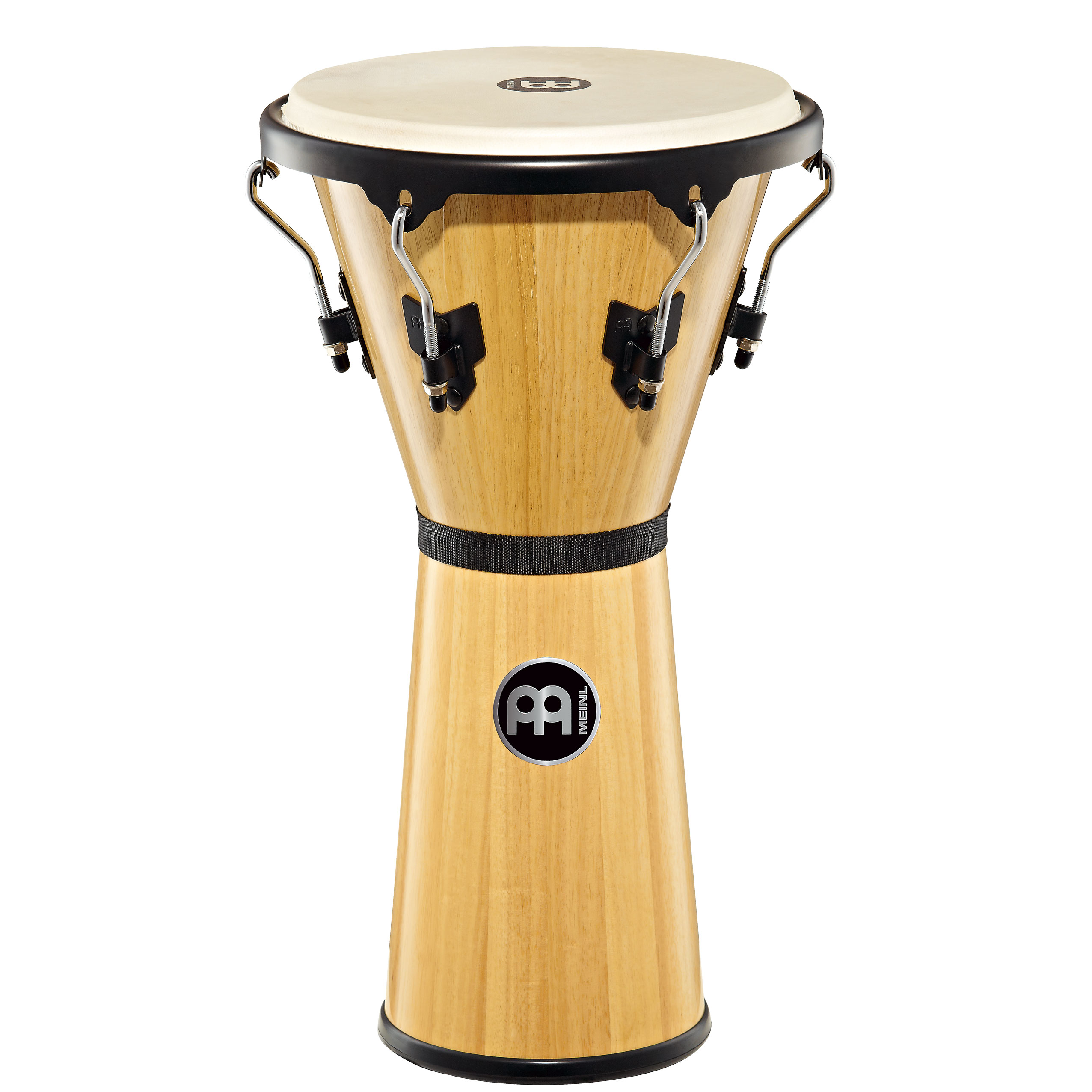 "Meinl 12 1/2"" Headliner Series Wood Djembe in Natural Finish"