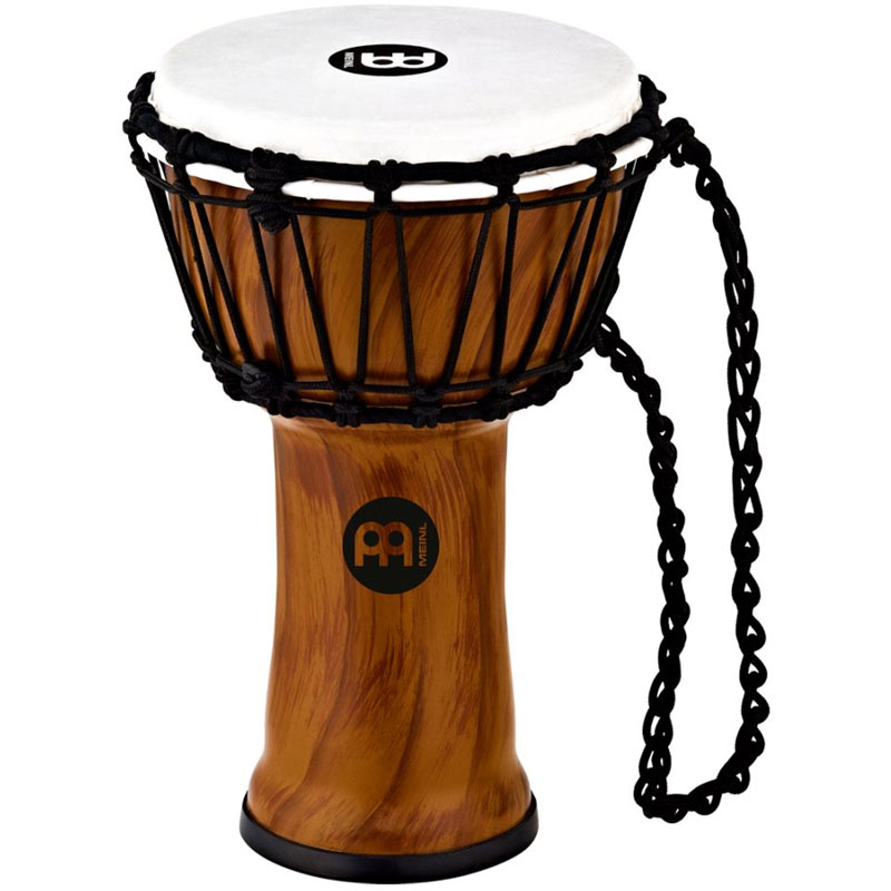 "Meinl 7"" Jr. Djembe in Twisted Amber"