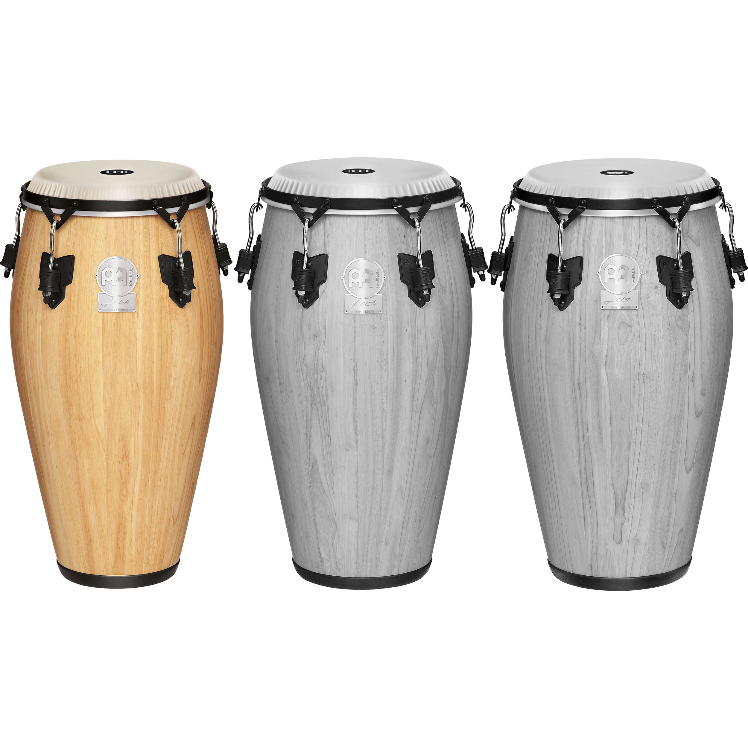 """Meinl 11"""" Artist Series Luis Conte Quinto Conga in Natural with Nuskyn Head"""