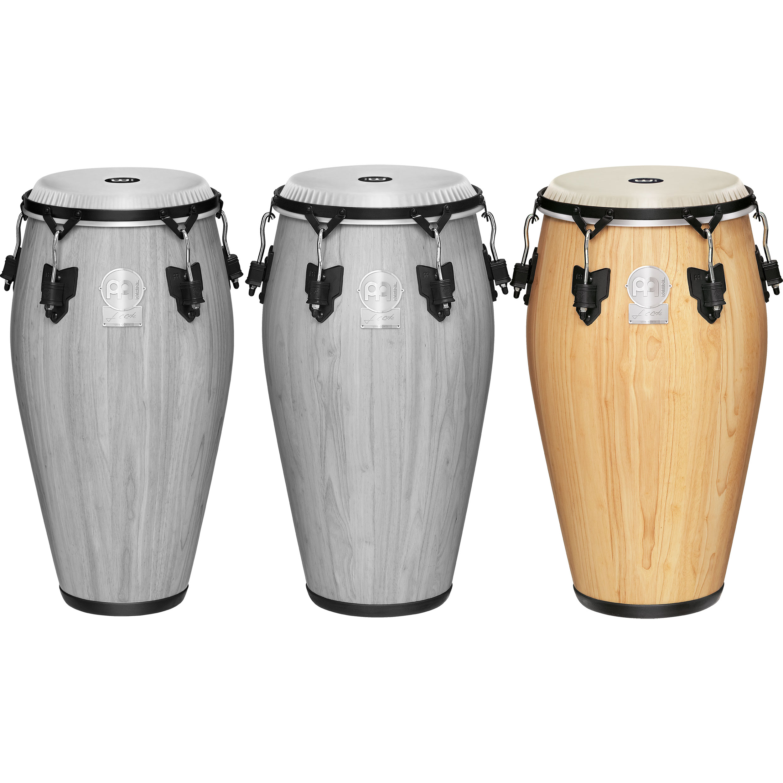 """Meinl 12.5"""" Artist Series Luis Conte Tumba Conga in Natural with Nuskyn Head"""