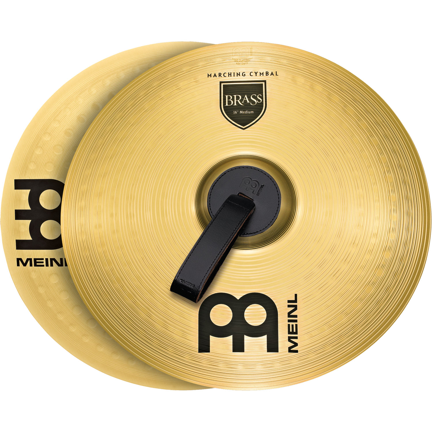 "Meinl 18"" Student Range Brass Marching Crash Cymbal Pair"