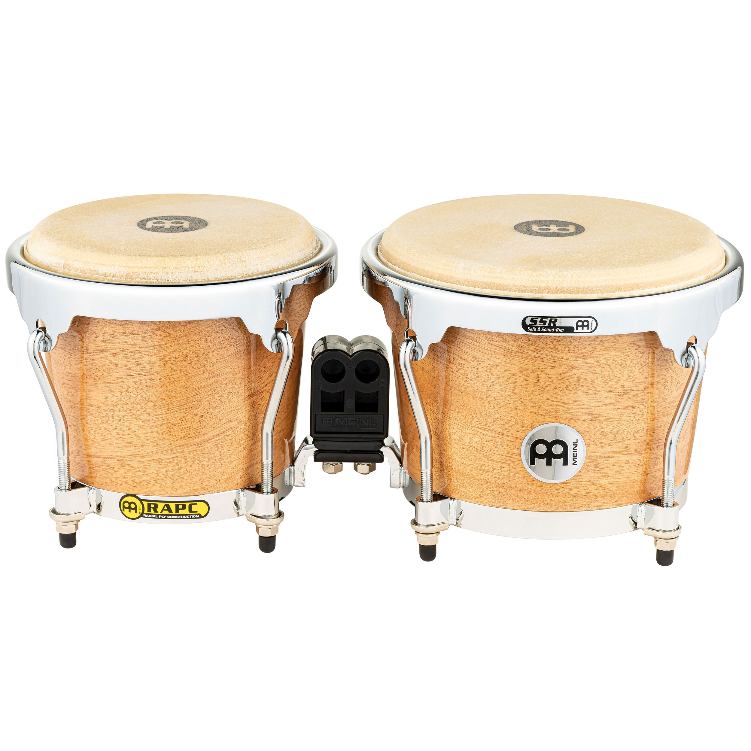 "Meinl 6.75"" & 8"" Radial Ply Construction (RAPC) Wood Bongos in Cherry"