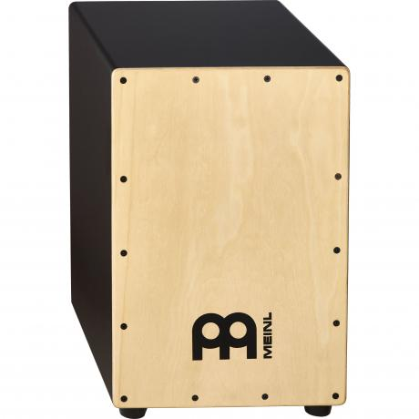 Meinl Black Headliner Snare Cajon with Maple Frontplate