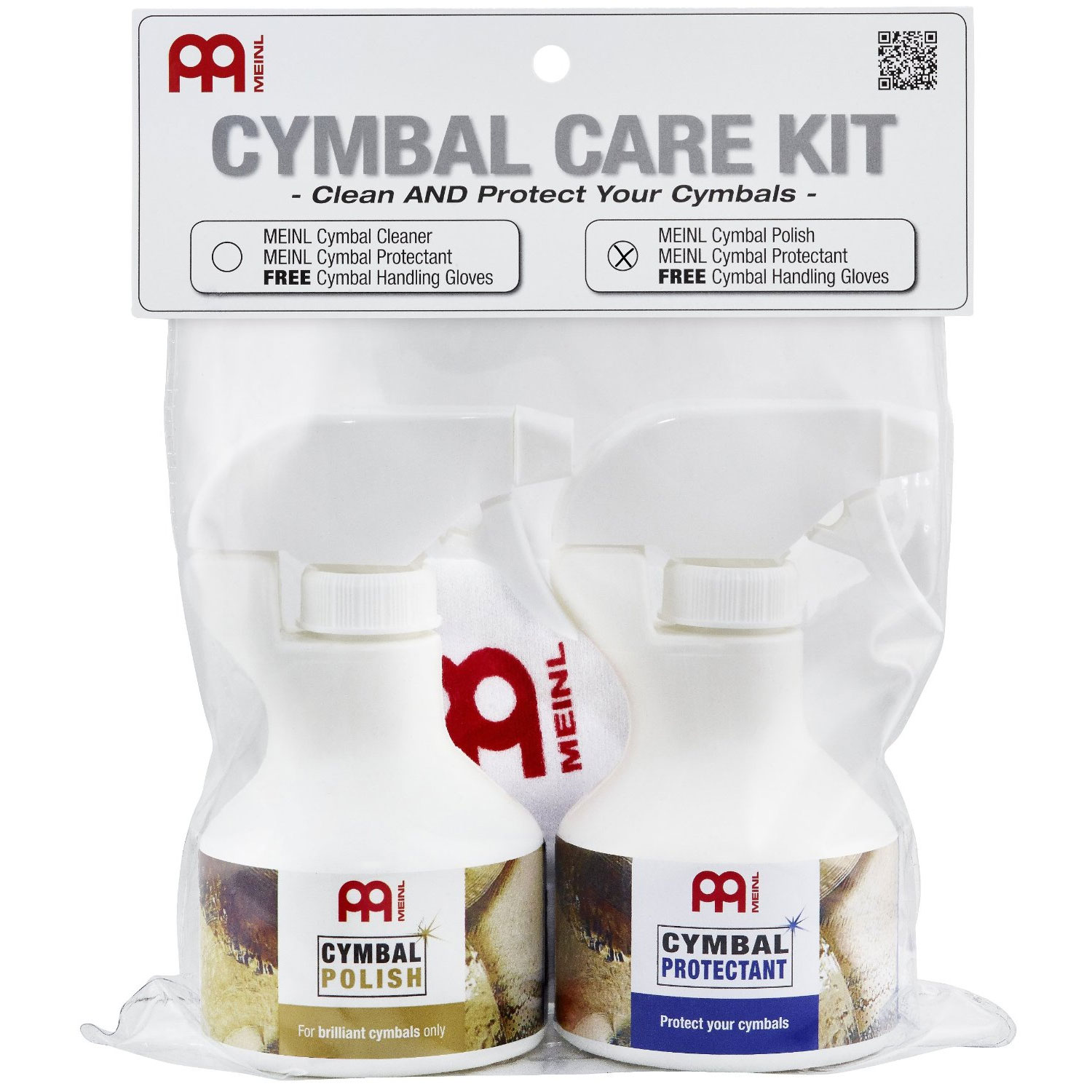 Meinl Cymbal Care Kit (Polish and Protectant)