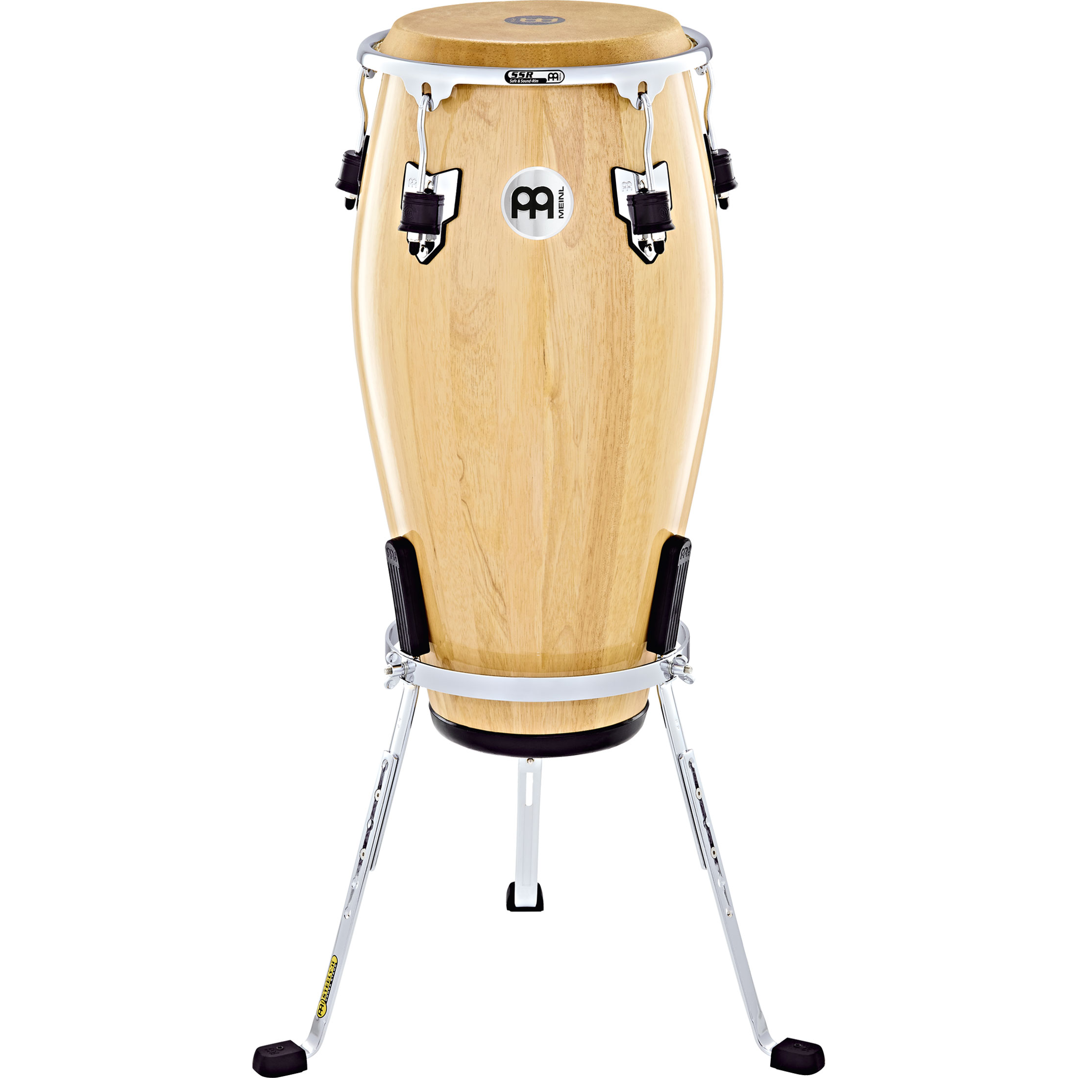 """Meinl 11"""" Marathon Exclusive Quinto Conga in Natural with Chrome Hardware"""