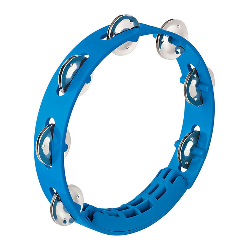 "Meinl Nino 8"" Compact ABS Tambourine in Sky Blue"