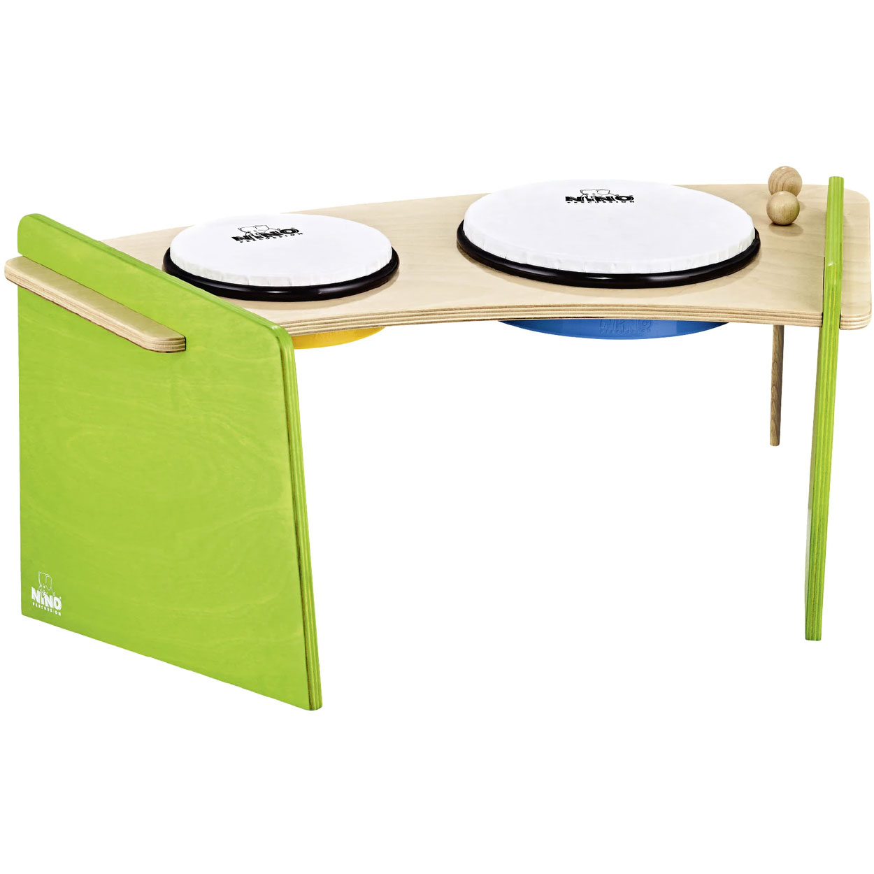 Meinl Nino Hand Drum Pair with Stand