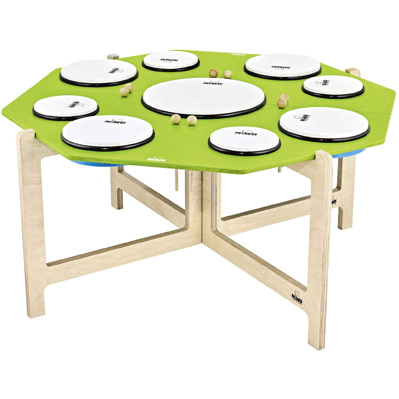Meinl Nino Classroom Hand Drum Set with Stand