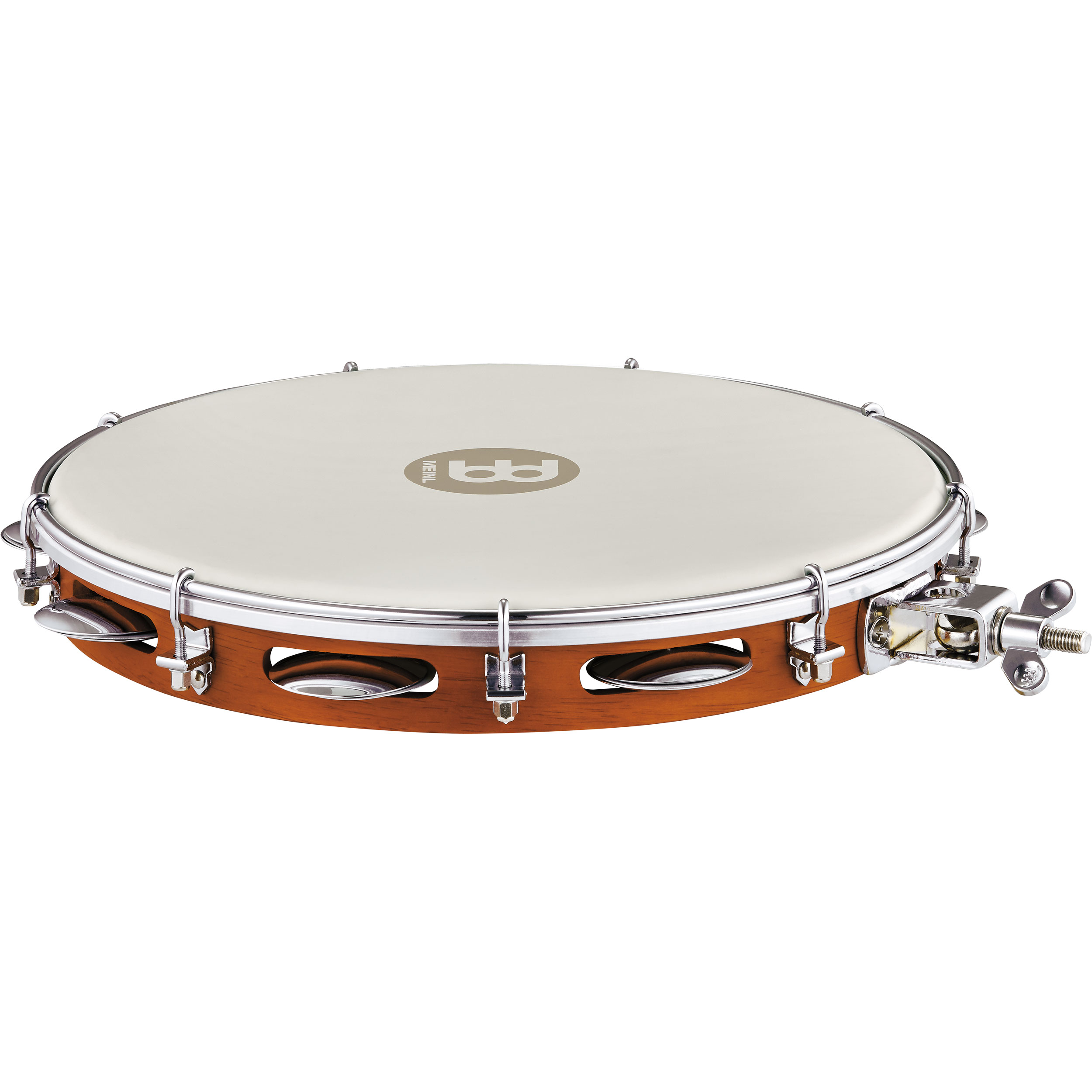 "Meinl 12"" Traditional Wood Pandeiro with Holder"