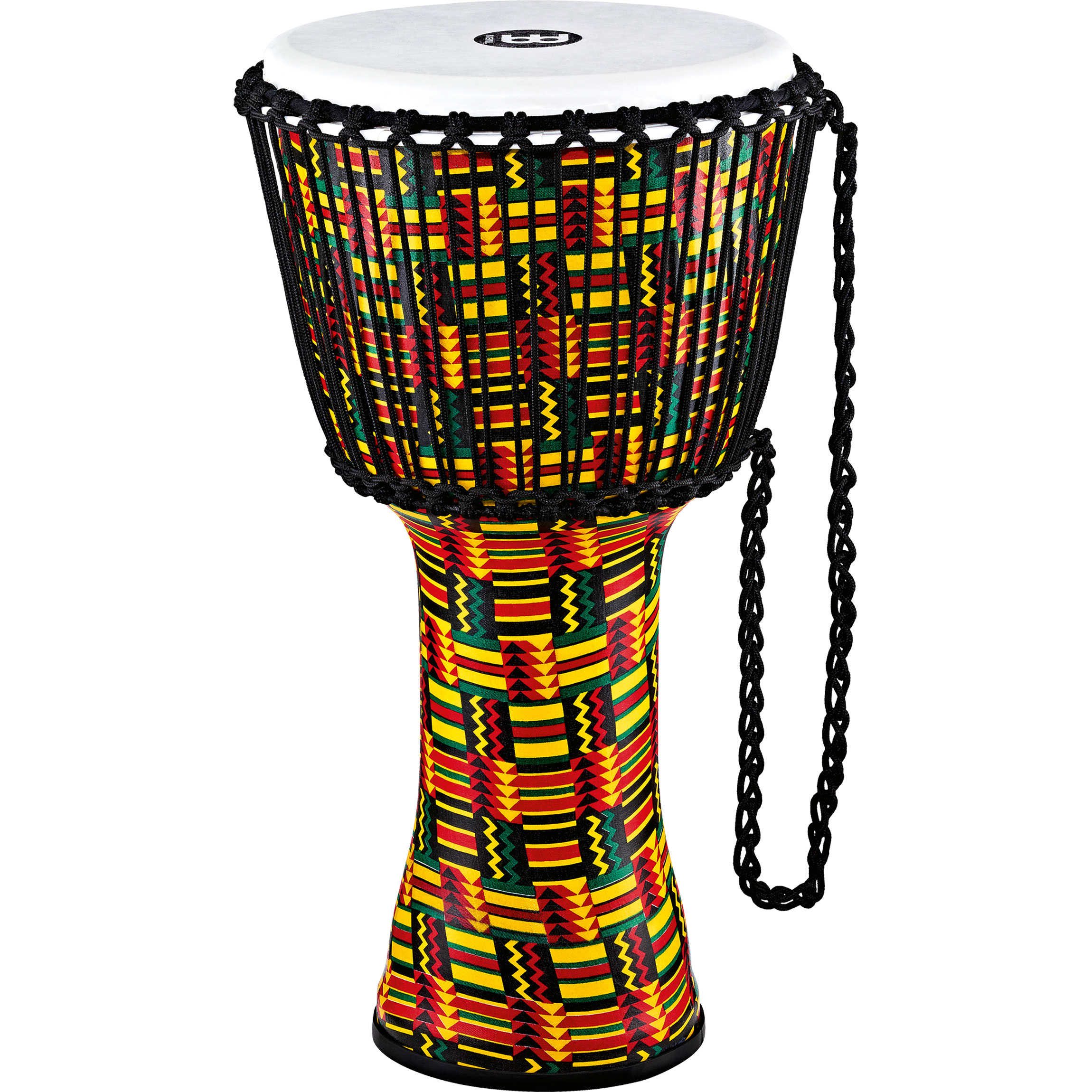 "Meinl 12"" Rope Tuned Travel Series Simbra Djembe with Synthetic Head"