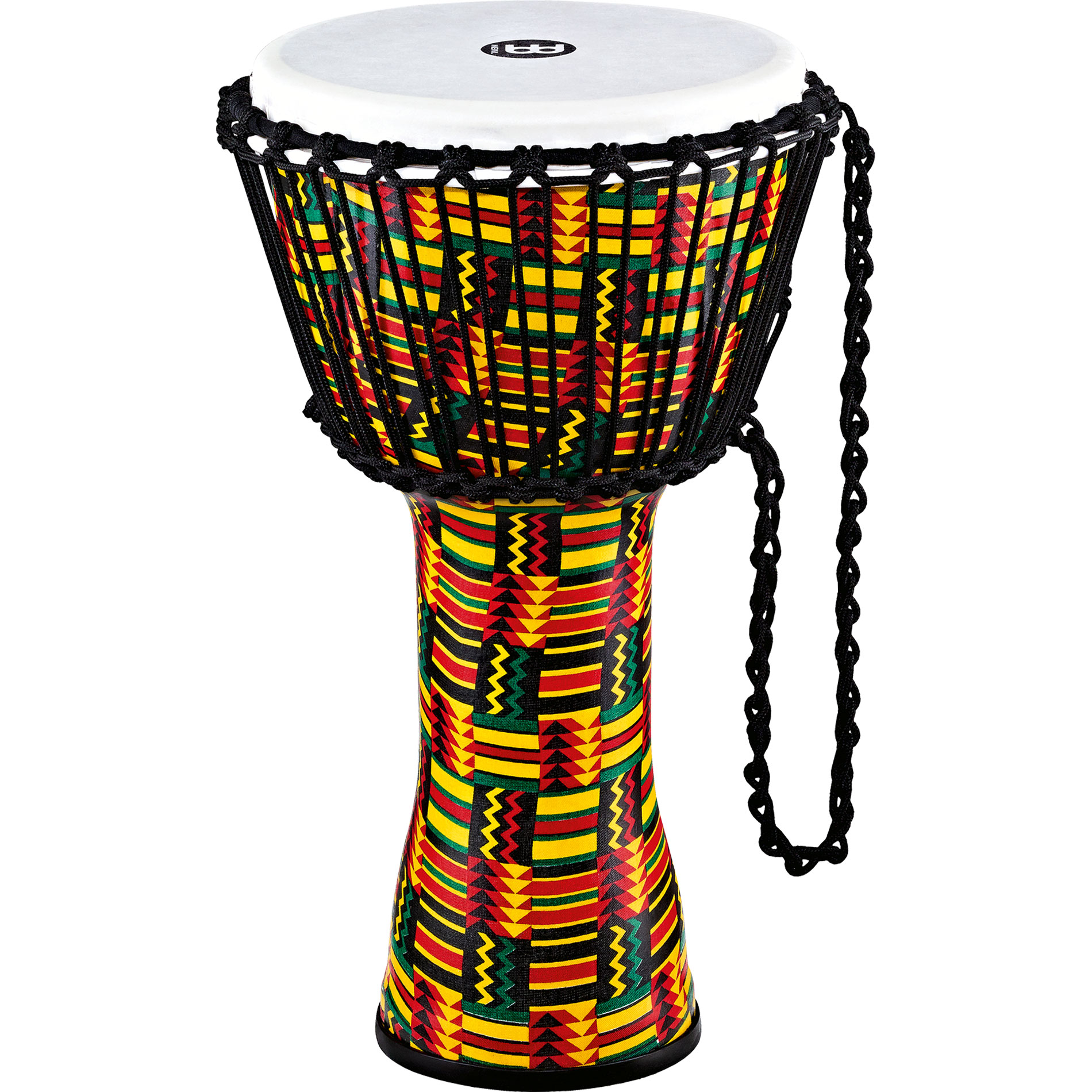 "Meinl 10"" Rope Tuned Travel Series Simbra Djembe with Synthetic Head"