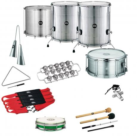 Meinl Samba Package for 8 Players with Upgraded Surdos