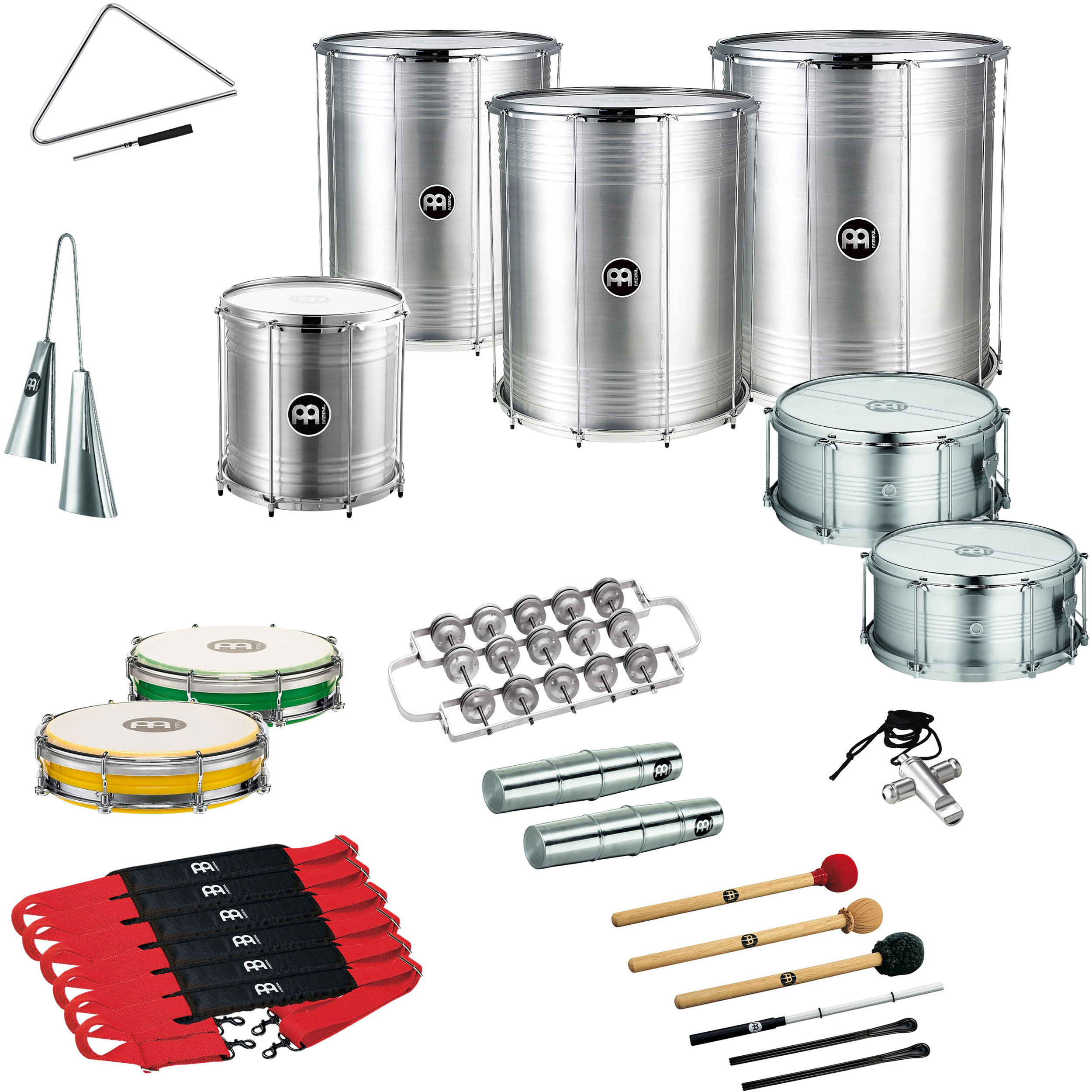 Meinl Samba Package for 12 Players