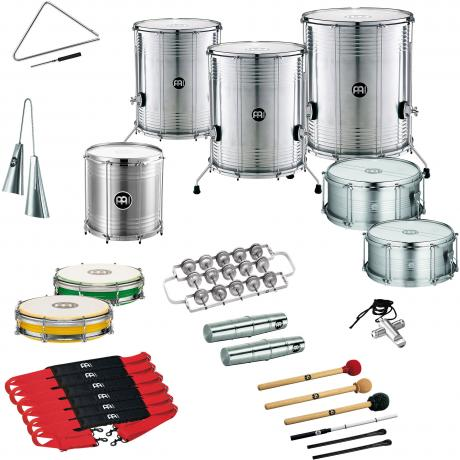 Meinl Samba Package for 12 Players with Upgraded Surdos