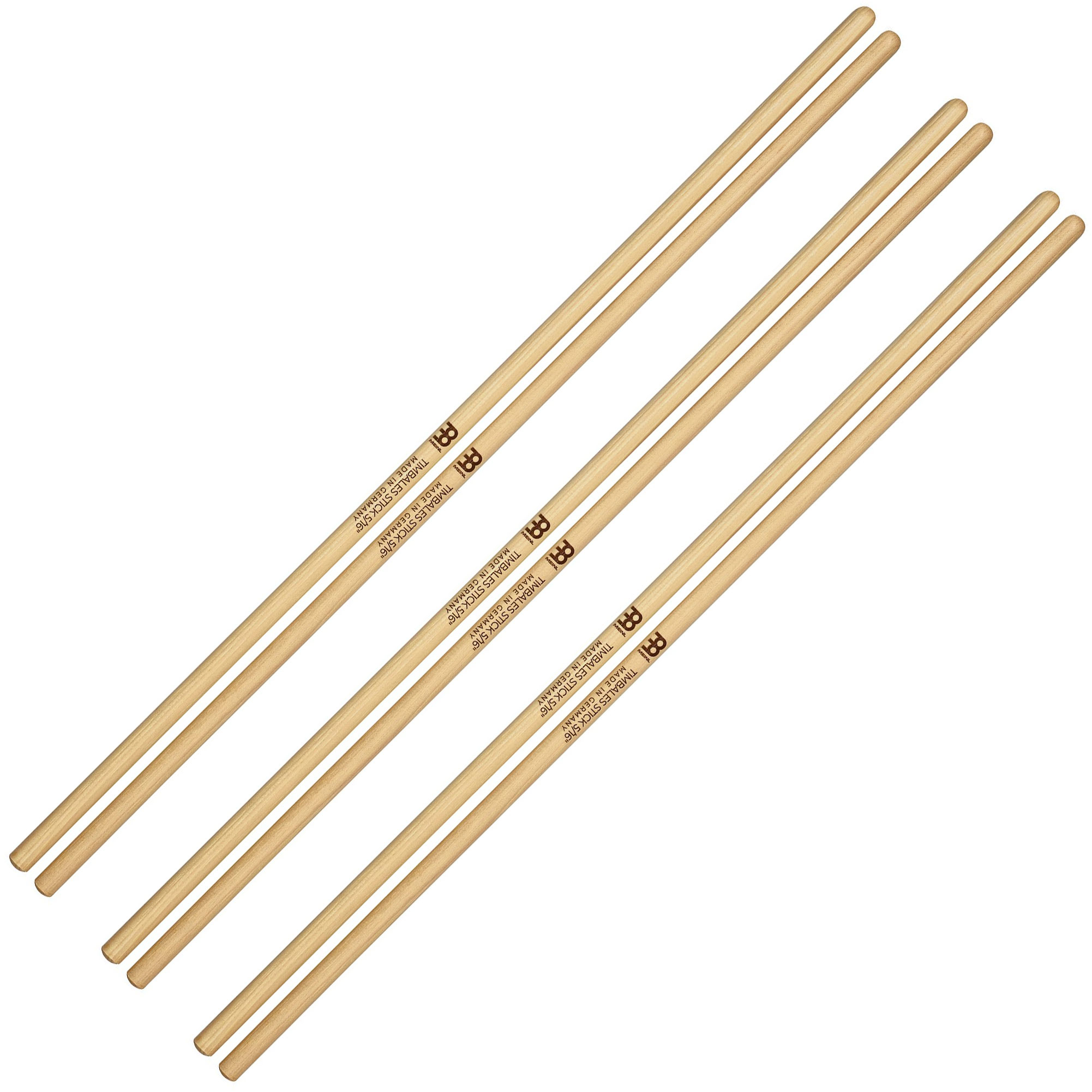 """Meinl 5/16"""" Hickory Timbales Sticks (3 Pairs)"""