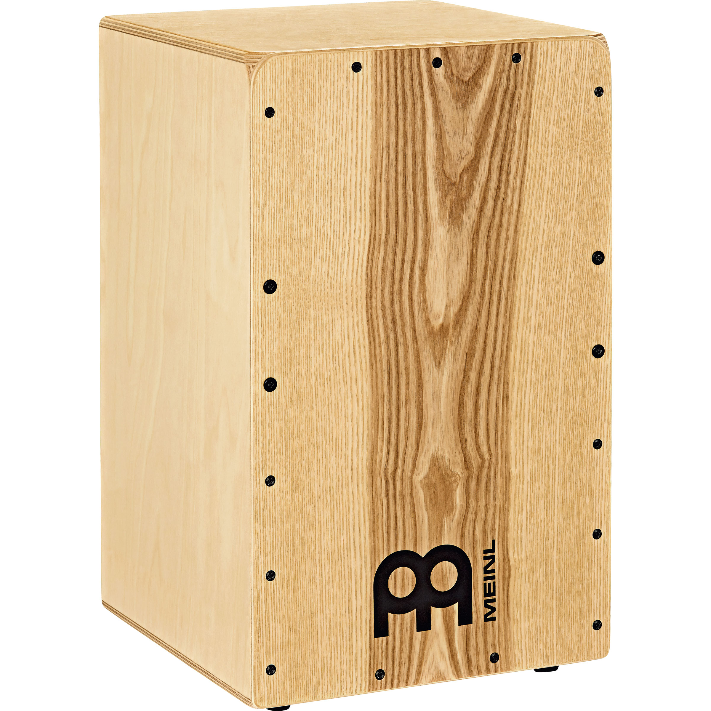 """Meinl Snarecraft Cajon with Heart Ash Frontplate, 19 3/4"""" Height"""