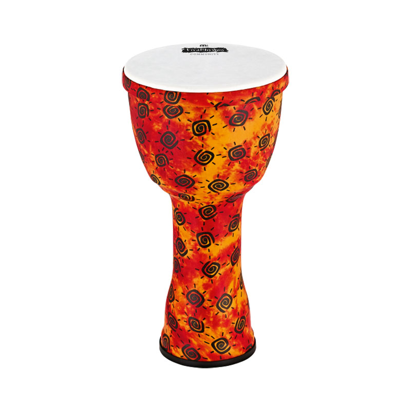 "Meinl VivaRhythm 12"" Boom Series Djembe with Pre-Tuned Synthetic Head"