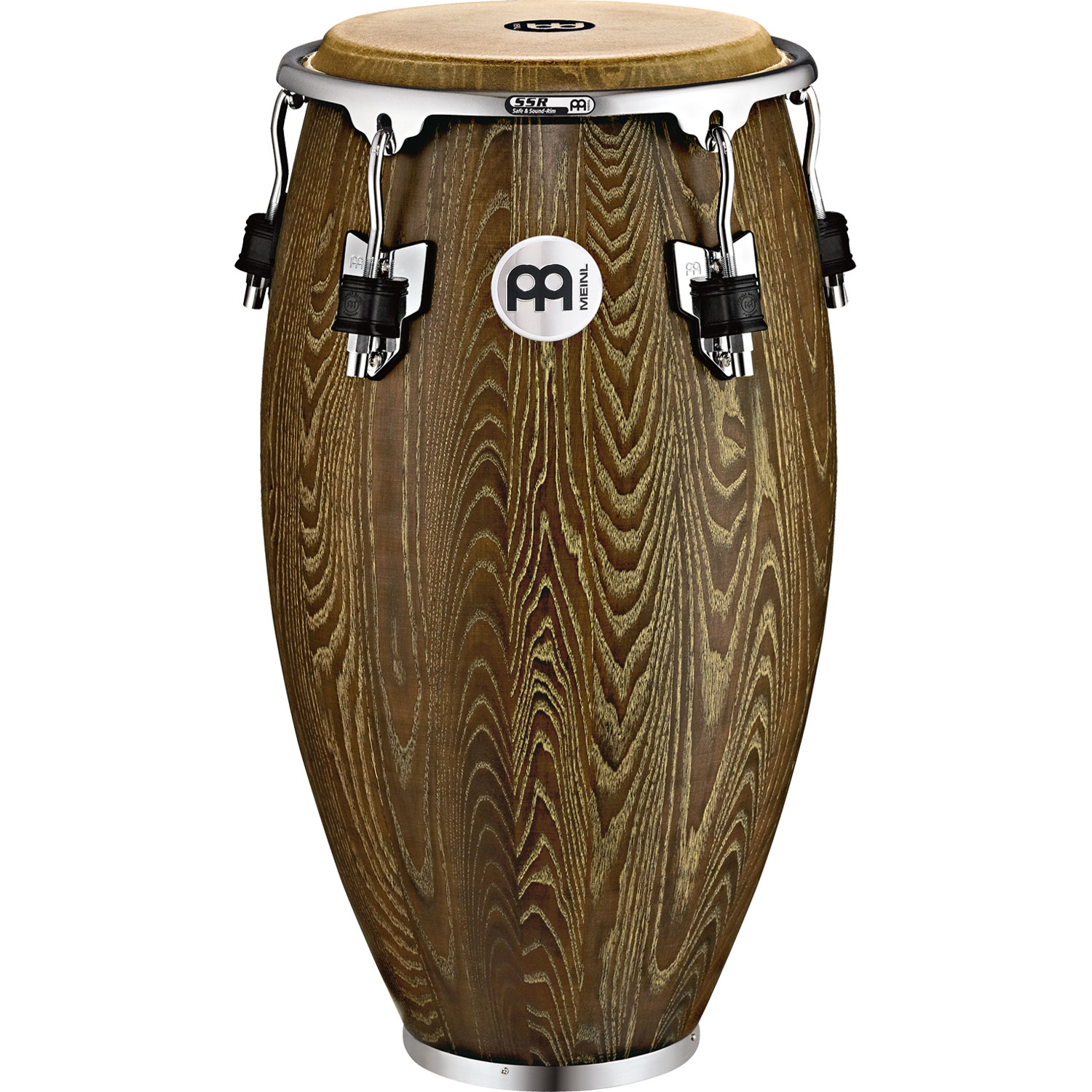 """Meinl 11"""" Woodcraft Series Quinto Conga in Vintage Brown"""