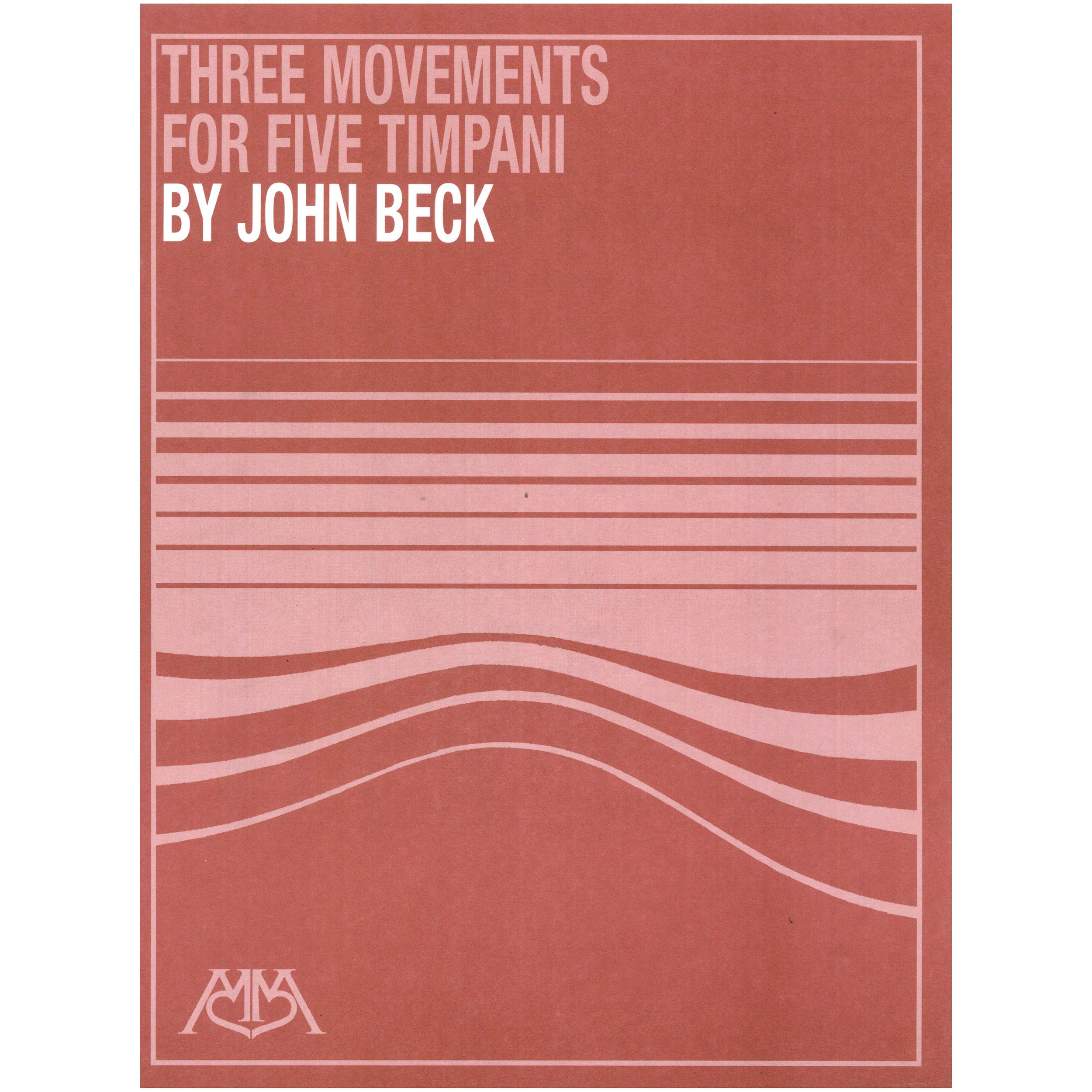Three Movements for Five Timpani by John Beck