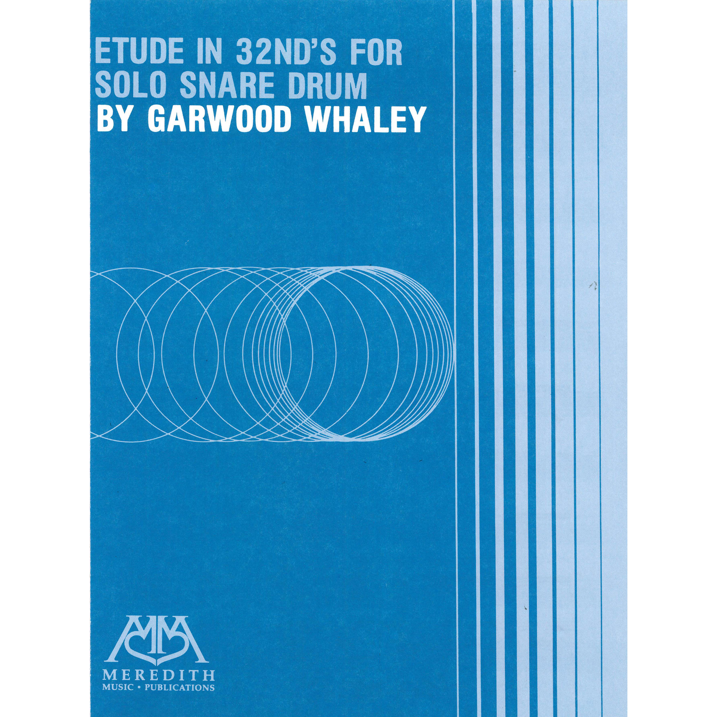Etude in 32nds by Garwood Whaley