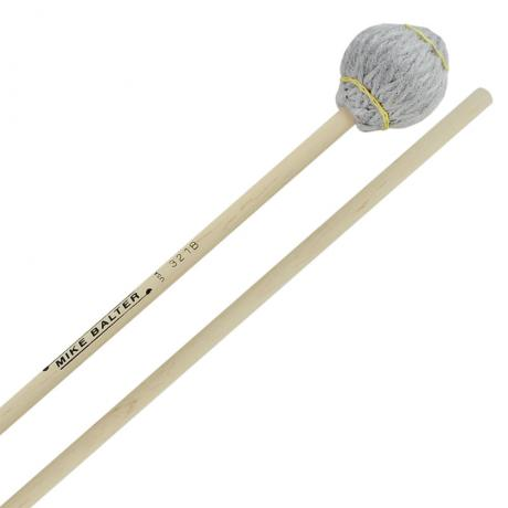 Mike Balter Titanium Series Extra Hard Vibraphone/Marimba Mallets with Birch Handles