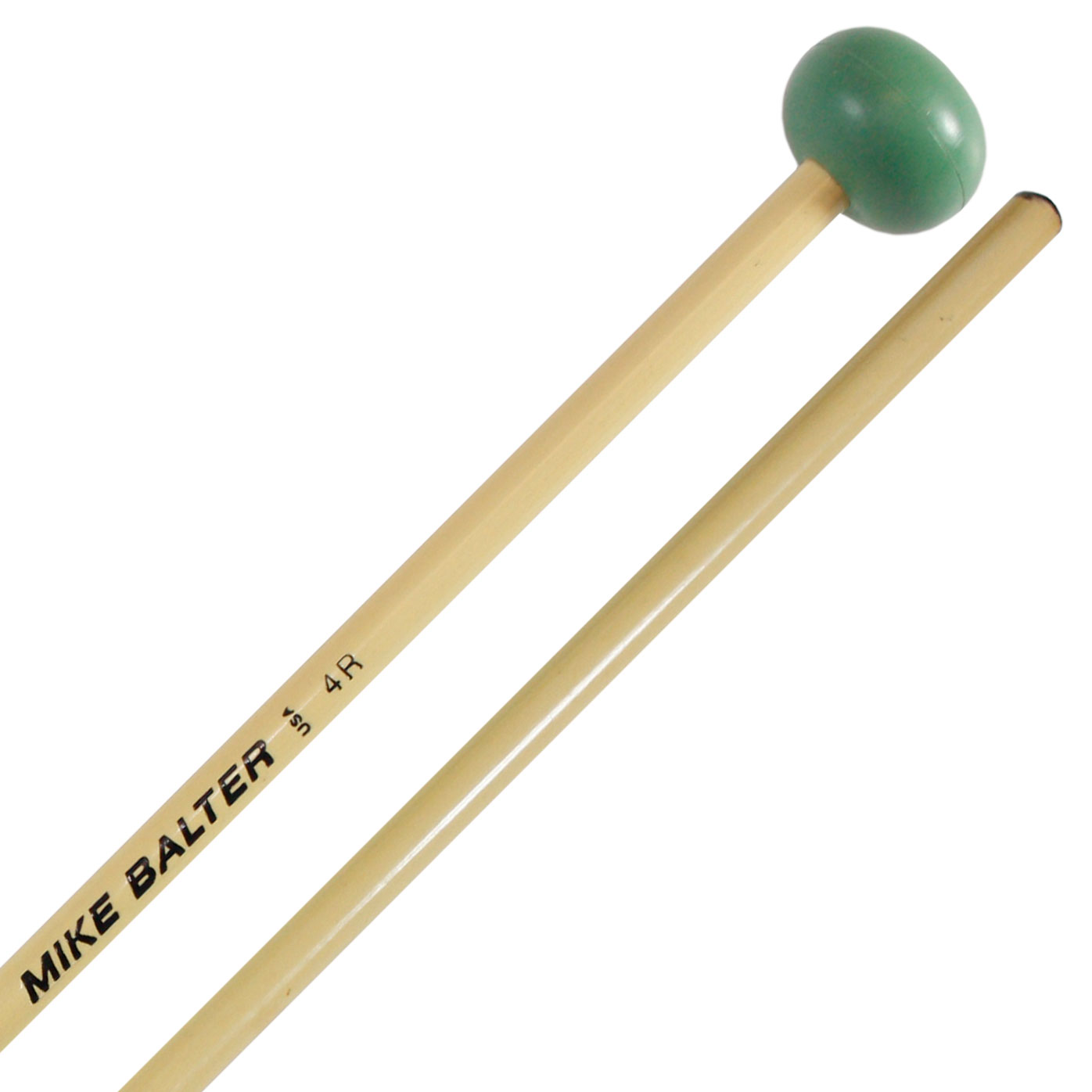 Mike Balter Unwound Medium Rubber Xylophone Mallets with Rattan Handles