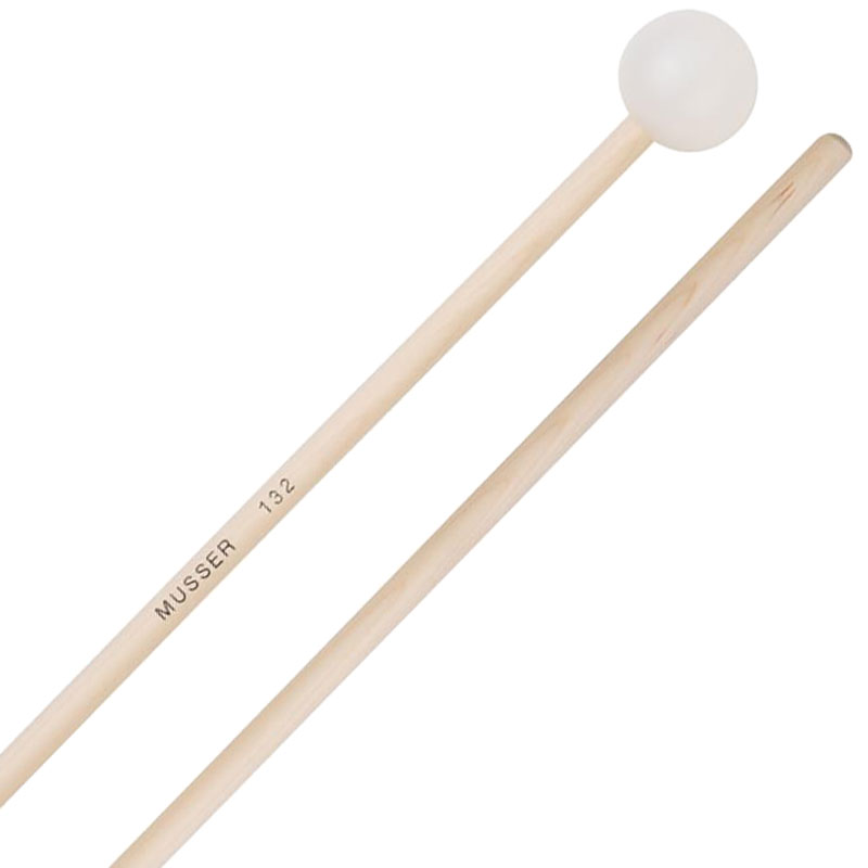 Musser Hard Poly Ball Bell/Xylophone Mallets