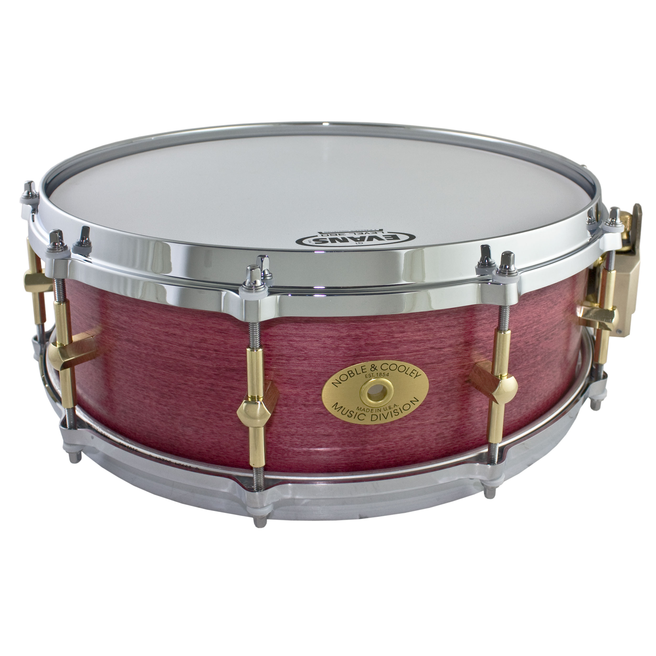 "Noble & Cooley 5"" x 14"" Classic Solid Shell Maple Snare Drum"