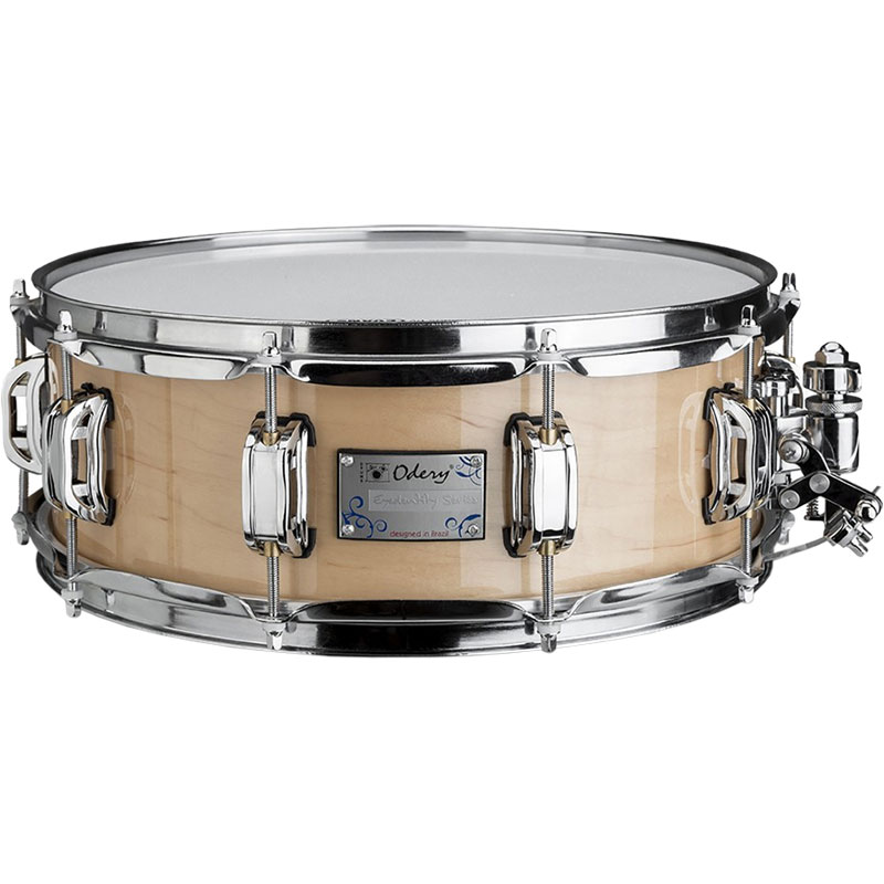 "Odery Drums 10"" x 4.5"" Eyedentity Series Maple Snare Drum in Natural"