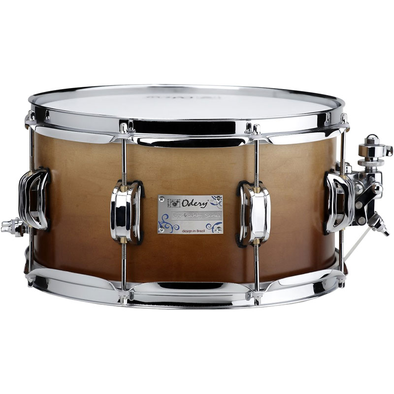 "Odery Drums 12"" x 6.5"" Eyedentity Series Maple Snare Drum in Imbuia Fade"