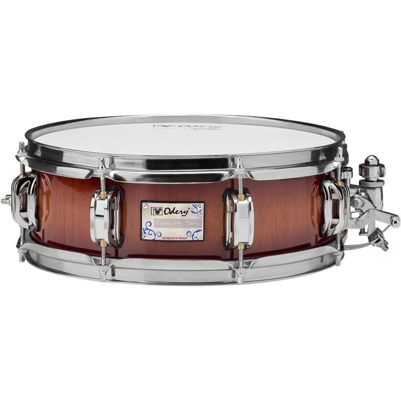 "Odery Drums 14"" x 5"" Eyedentity Series Nyatoh Snare Drum in Red River"